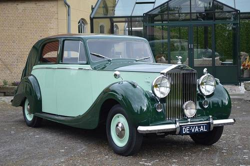 1948 Rolls-Royce Silver Wraith Park Ward Saloon For Sale (picture 1 of 6)