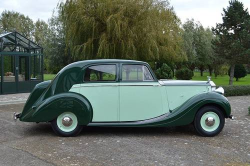 1948 Rolls-Royce Silver Wraith Park Ward Saloon For Sale (picture 3 of 6)