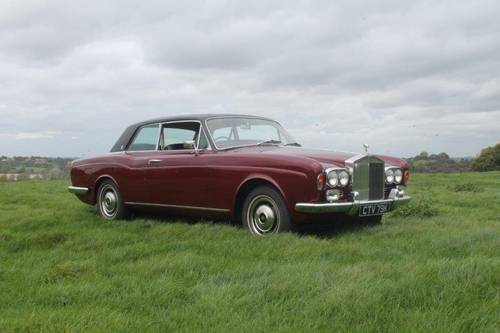 1972 Rolls Royce Corniche, Fixed head coupe. For Sale (picture 1 of 6)