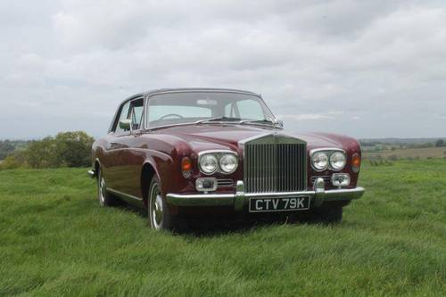 1972 Rolls Royce Corniche, Fixed head coupe. For Sale (picture 3 of 6)