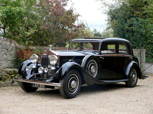 1934 Rolls Royce 20/25 Sports Saloon By Park Ward  For Sale (picture 1 of 6)