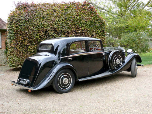 1934 Rolls Royce 20/25 Sports Saloon By Park Ward  For Sale (picture 2 of 6)