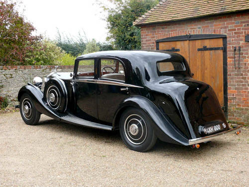 1934 Rolls Royce 20/25 Sports Saloon By Park Ward  For Sale (picture 3 of 6)