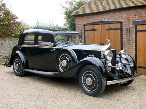 1934 Rolls Royce 20/25 Sports Saloon By Park Ward  For Sale (picture 4 of 6)