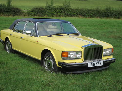 1990 Rolls-Royce Silver Spirit II SOLD (picture 3 of 6)