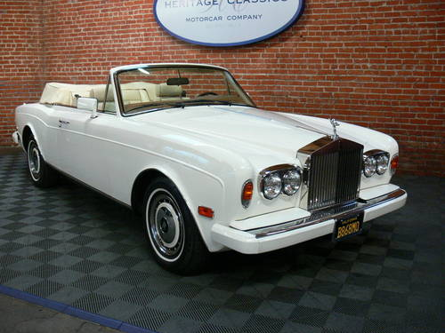 1990 Rolls Royce Cornich SOLD (picture 1 of 6)