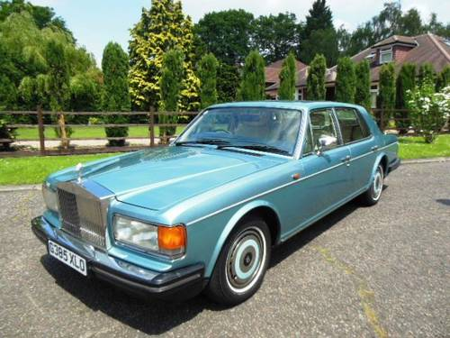 Rolls Royce Silver Spirit 1989 G Reg  ABS/ Injection  SOLD (picture 1 of 6)