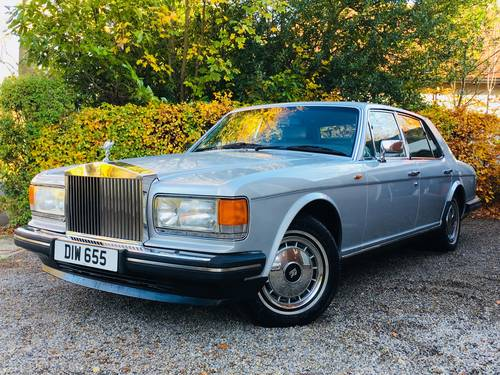 1991 ROLLS ROYCE SILVER SPIRIT II - ONLY 66K MILES - FSH SOLD (picture 1 of 6)