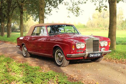 Rolls Royce Corniche LHD, 1970 For Sale (picture 3 of 6)