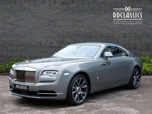 2017 Rolls-Royce Wraith (RHD) SOLD (picture 1 of 6)