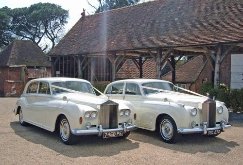 Wedding Rolls Royce/Landaulette/Bramwith/Daimler For Hire (picture 4 of 6)