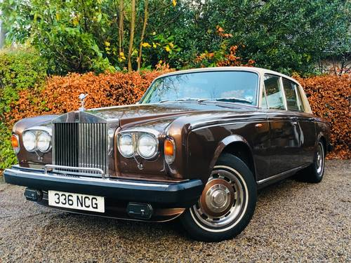 1979 SILVER SHADOW - WONDERFUL SERVICE HISTORY - CHESTNUT SOLD (picture 1 of 6)