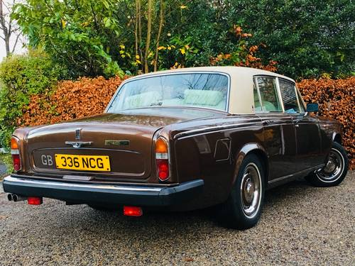 1979 SILVER SHADOW - WONDERFUL SERVICE HISTORY - CHESTNUT SOLD (picture 2 of 6)