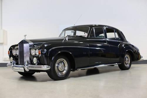A majestic 1963 Rolls Royce Silver Cloud III Saloon with doc SOLD (picture 1 of 6)