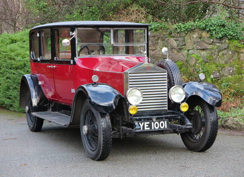 1927 Rolls-Royce 20hp Connaught Limousine GYK34 For Sale (picture 1 of 6)