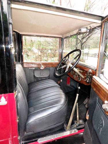 1927 Rolls-Royce 20hp Connaught Limousine GYK34 For Sale (picture 5 of 6)