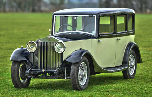 1933 Rolls Royce 20/25 Windovers Limousine SOLD (picture 1 of 6)