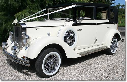 Wedding Rolls Royce/Landaulette/Bramwith/Daimler For Hire (picture 6 of 6)