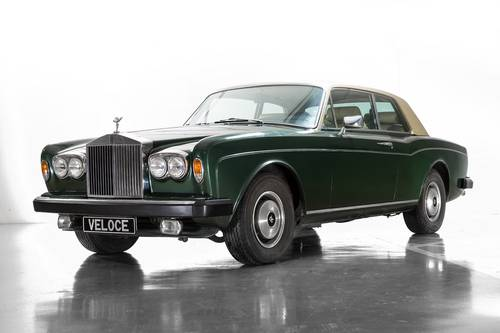 1976 Rolls Royce Corniche Coupe LHD one owner 25.000km  SOLD (picture 1 of 6)