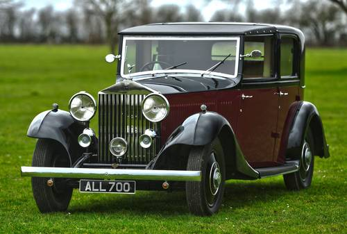 1933 Rolls Royce 20/25 Thrupp & Maberly Sedanca For Sale (picture 1 of 6)