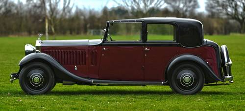 1933 Rolls Royce 20/25 Thrupp & Maberly Sedanca For Sale (picture 2 of 6)