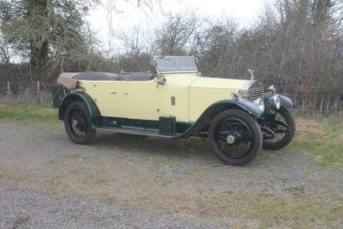 1924 Rolls-Royce 20hp SOLD (picture 2 of 6)