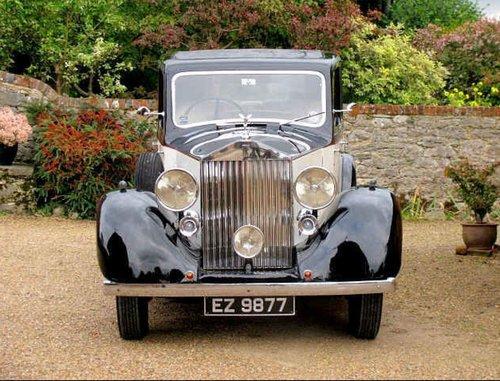 1938 Wedding Car Rolls Royce 25/30