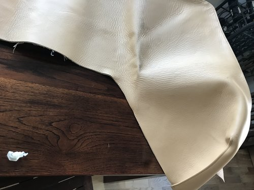 New leather hood cover  for Rolls Royce Corniche SOLD (picture 3 of 5)