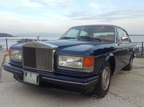 1989 Rolls Royce Silver Spirit 2 For Sale (picture 1 of 6)