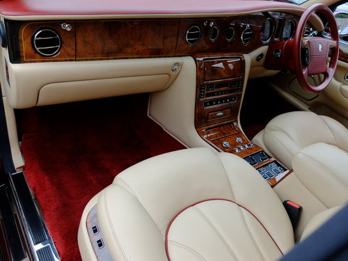 1999 ROLLS ROYCE SILVER SERAPH - V Reg - 41K MILES - IMPECCABLE ! For Sale (picture 3 of 6)