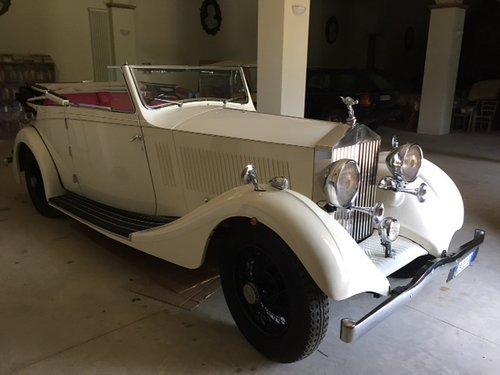 1936 Rolls Royce 25/30 Pass & Joyce All Weather Cabriolet For Sale (picture 1 of 6)