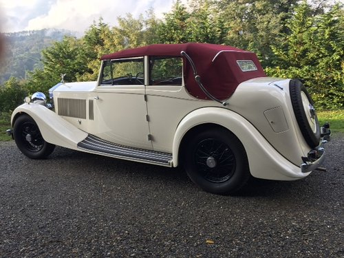 1936 Rolls Royce 25/30 Pass & Joyce All Weather Cabriolet For Sale (picture 2 of 6)