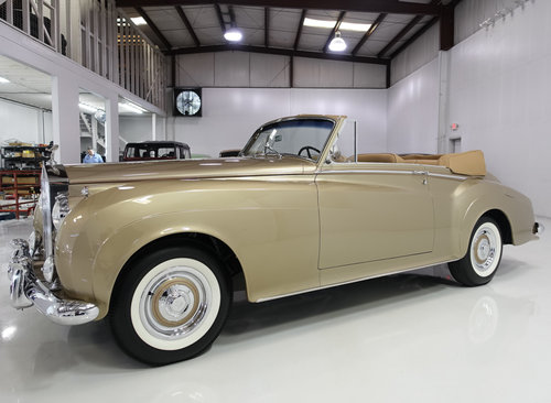 1959 Rolls-Royce Silver Cloud I Drophead Coupe For Sale (picture 1 of 6)
