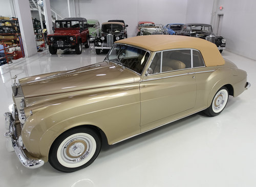 1959 Rolls-Royce Silver Cloud I Drophead Coupe For Sale (picture 2 of 6)