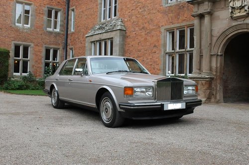 1992 Rolls Royce Silver Spirit II For Sale (picture 1 of 6)