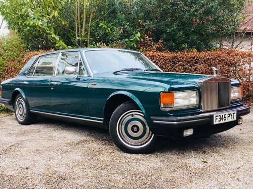 1988 Rolls Royce Silver Spur - Mulliner Park Ward SOLD (picture 1 of 6)