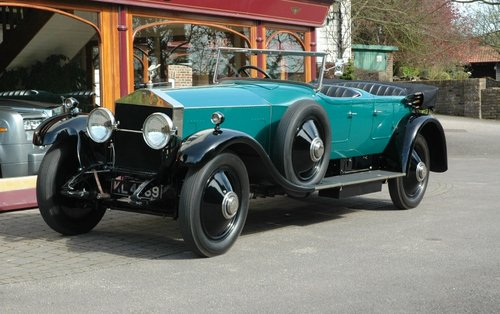 Rolls-Royce Silver Ghost 1924 Open Tourer by Hooper For Sale (picture 1 of 3)