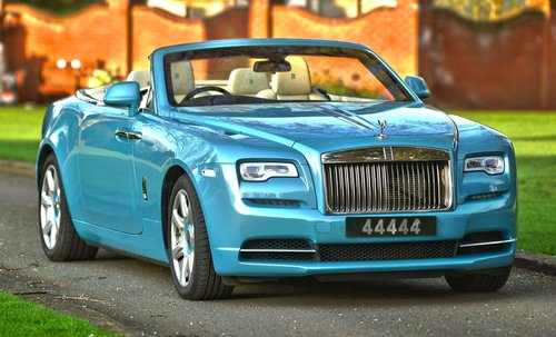 2017 Rolls Royce Dawn Convertible For Sale (picture 1 of 6)