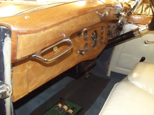 1939 ROLLS ROYCE WRAITH by H.J.MULLINER 4 DOOR RAZOR SPORTS  SOLD (picture 4 of 6)