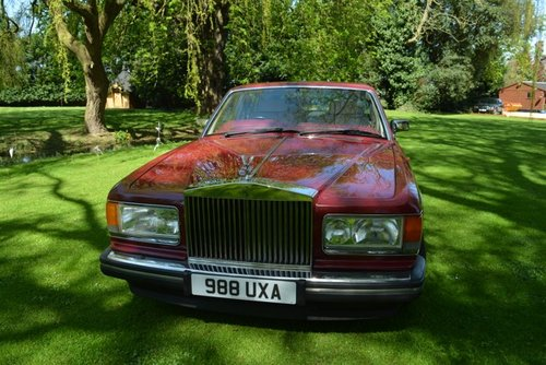 Rolls Royce Silver Spirit II 1992, 58000 miles For Sale (picture 1 of 6)