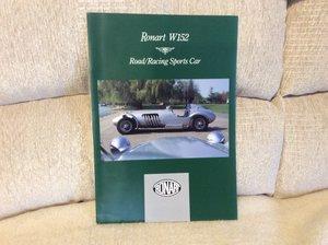 Ronart W 152 brochure