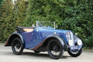 Rosengart LR 2 Roadster, RHD, 1929 SOLD