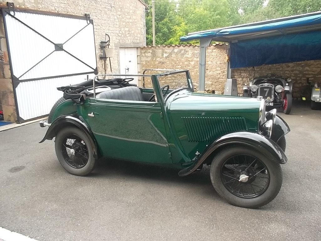 1934 ROSENGART LR49 CABRIOLET SOLD (picture 6 of 6)