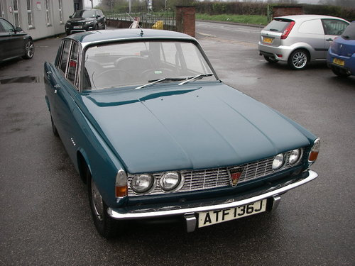 1970 ROVER P6 Series One 2000 ~  SOLD (picture 2 of 6)
