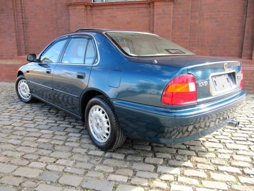 1995 ROVER 600 623 SLi AUTO HONDA 2.3 ENGINE * ONLY 5856 MILES SOLD (picture 2 of 6)