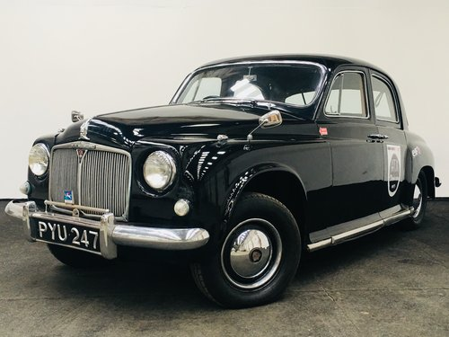 1955 rover 75 p4 - excellent value - 2017 mille miglia entry SOLD (picture 1 of 6)