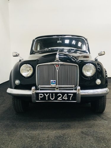1955 rover 75 p4 - excellent value - 2017 mille miglia entry SOLD (picture 3 of 6)