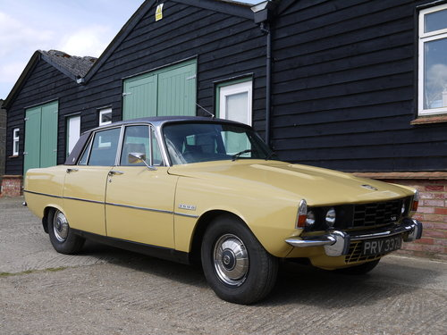 1974 ROVER P6 3500 V8 SALOON WITH LEATHER AND PAS !! SOLD (picture 1 of 6)