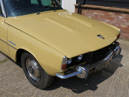 1974 ROVER P6 3500 V8 SALOON WITH LEATHER AND PAS !! SOLD (picture 4 of 6)