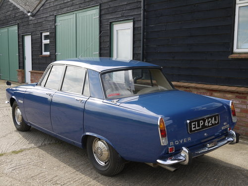 1970 ROVER P6 3500 SERIES 1, JUST 45K MILES FROM NEW !! SOLD (picture 2 of 6)